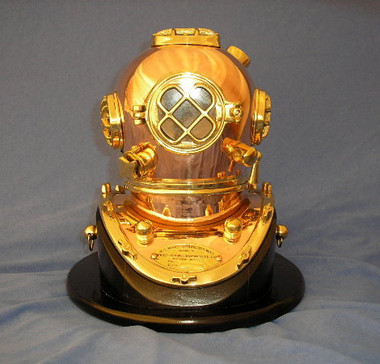 Navy Dive Helmet