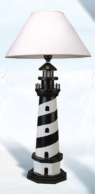 "28"" Tall Lighthouse Table Lamp"