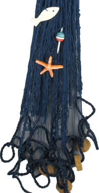 Navy Blue Fish Nets For Decorating