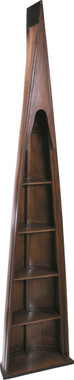 Man of Eight Boat Wooden BookCase