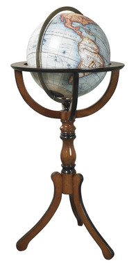 Library Globe on Floor Stand