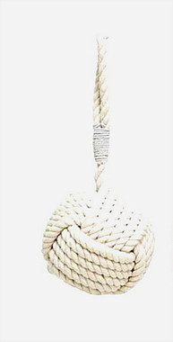 White Nautical Rope Door Stops