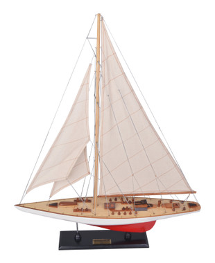 Endeavour Wooden Model Racing Boat