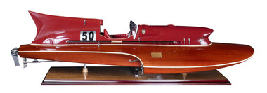 Thunderboat Hydroplane 1950's Racing Boat Model 32""