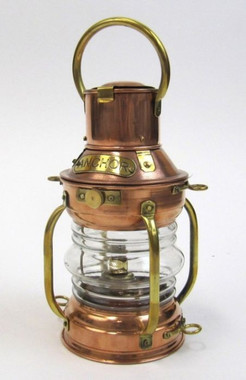 Nautical Bar Decor Copper Oil Ship Lamp