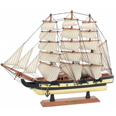 "USS Constitution 20"" Model Ship Replica"
