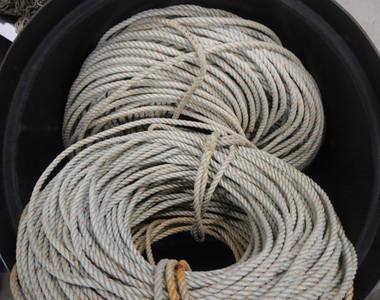 Used Vintage Marine Ropes