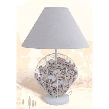 """14"""" Shell Table Lamp"""