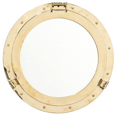 Solid Brass Porthole Mirrors for Sale