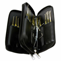 24 Piece Lock Pick Set - Open View
