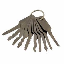 Generic Car Jiggler Keys