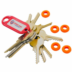 Padlock Deluxe Bump Key Set - Side View