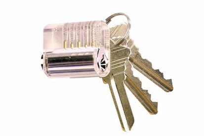 Schlage SC1 Practice Lock & key