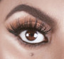 This 5D Mink, rounded, ultra wispy set of false lashes is ideal for achieving an Instant GLAMOUROUS finish. Adds length, volume and seduction to any look, while still being incredibly lightweight for a comfortable wear.