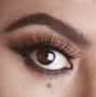 A more natural wispy style yet dramatic in the flare family, this lash style will slightly extend your eye shape creating the perfect fluffy eyelash look, while still being incredibly lightweight for a comfortable wear.