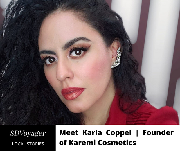 Meet Karla Coppel | Founder of Karemi Cosmetics