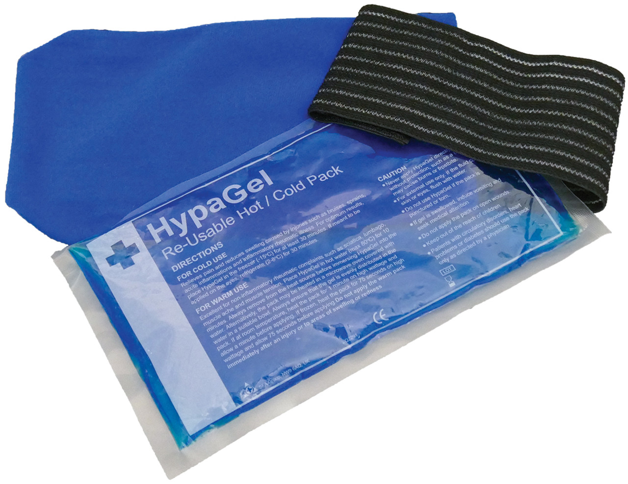 Hot//Cold Gel Pack With Elasticated Wrap reusable