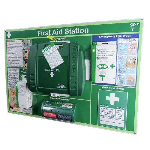 FAK2021 First Aid Station High Risk Industrial 1 to 25 People British Standard BS8599 Large