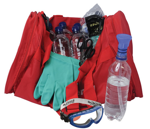 Decontamination Kit For Chemical and Acid Attack Includes 6 x 500ml open