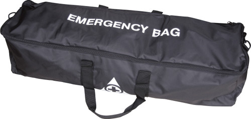 Emergency Evacuation Kit for up to 100 People in Large Shoulder Bag closed