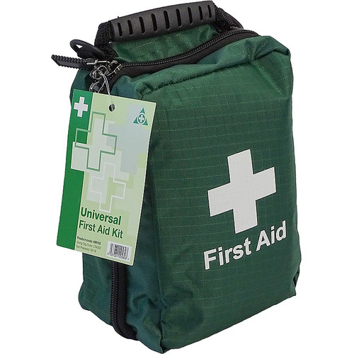 First Aid Kit Universal in Premium Belt Pouch Closed