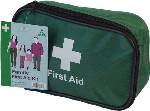 Family First Aid Kit closed