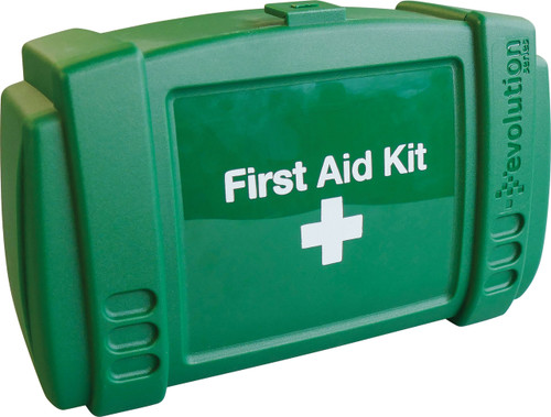 Travel and Motoring First Aid Kit Cars and Vans in Evolution Box BS8599 Compliant closed