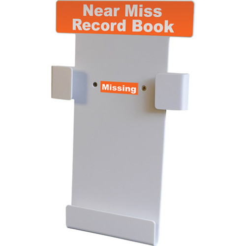 Near Miss Record Book Wall Station Includes Near Miss Book (A4)