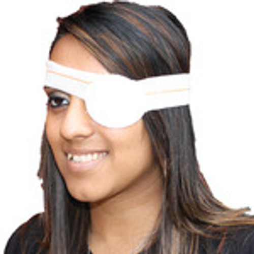 Eyepad Dressing with Bandage Sterile HSE Oval Pad