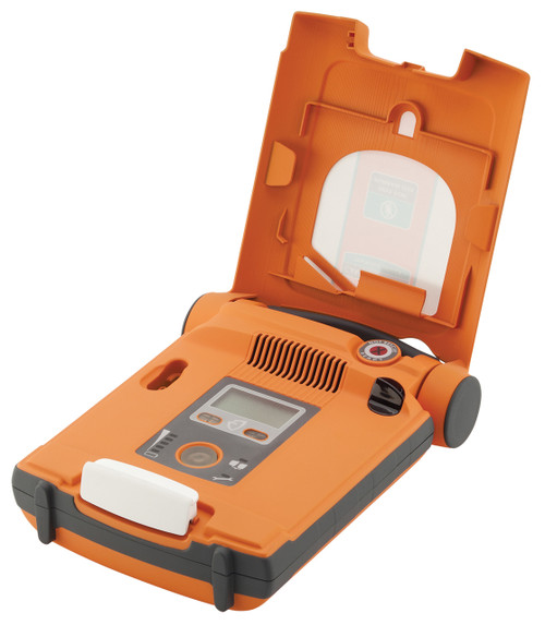 Cardiac Science Powerheart G5 Defibrillator AED Training Unit CPRD open