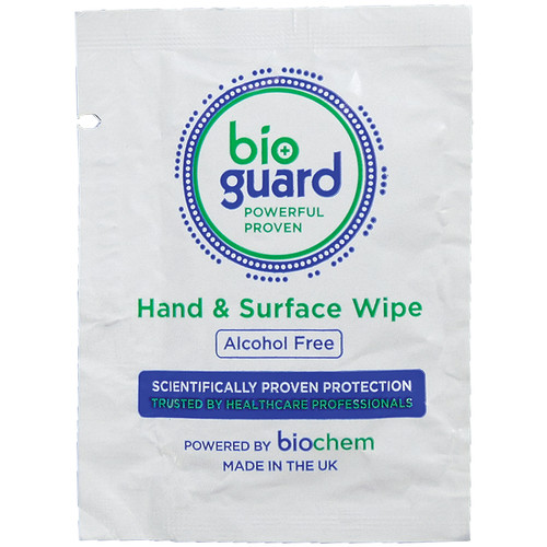 CHW2070 Hand Sanitiser Wipe Anti Microbial Individually Wrapped Box of 500