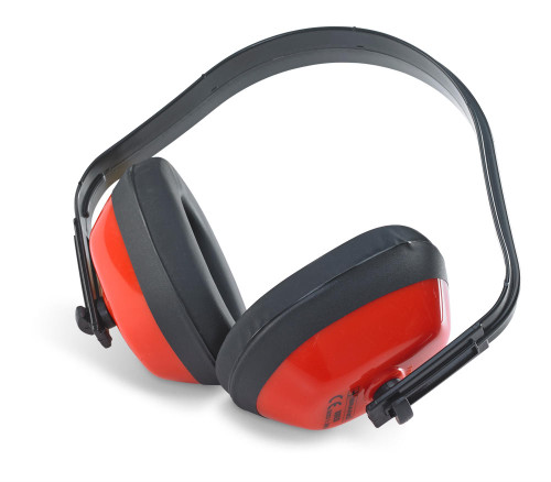 PEA1100 Ear Defenders 27DB for Hearing Protection Red | Beeswift