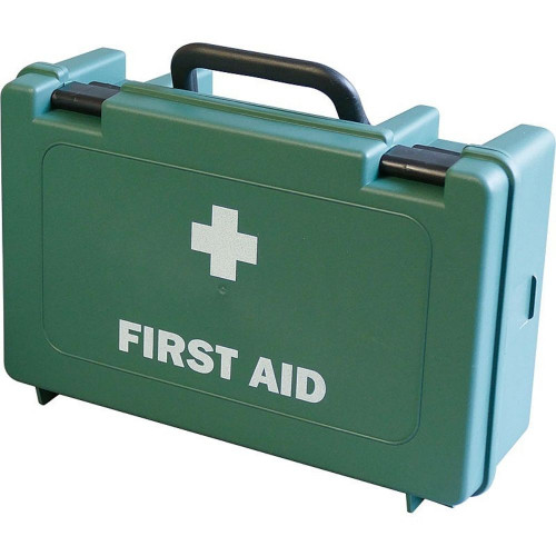 FAK1000PK20 Bulk Buy Case of 20 First Aid Kits Workplace 1 to 10 People HSE Economy Box Closed