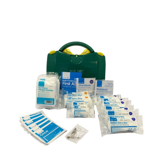 FAK1025 First Aid Kit for 1 to 10 People HSE Compliant | Viola Content