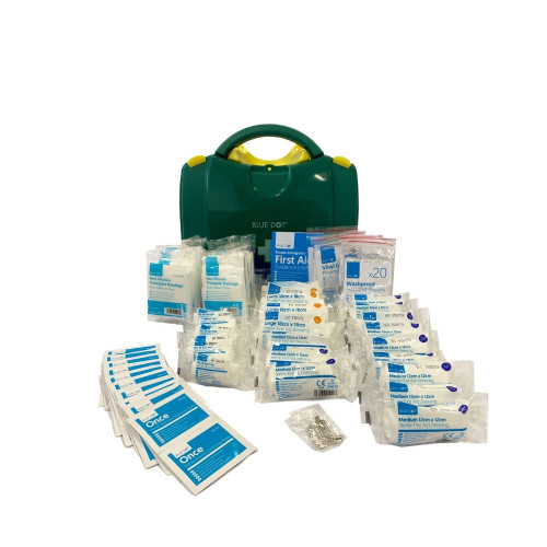 FAK1027 First Aid Kit for 1 to 50 People HSE Compliant | Viola Content