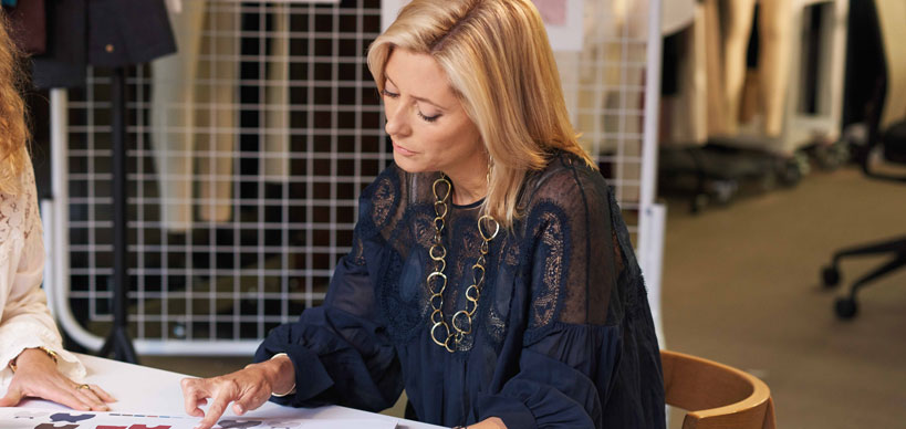 Princess-Marie-Chantal---Marie-Chantal-M&S-collaboration---sitting