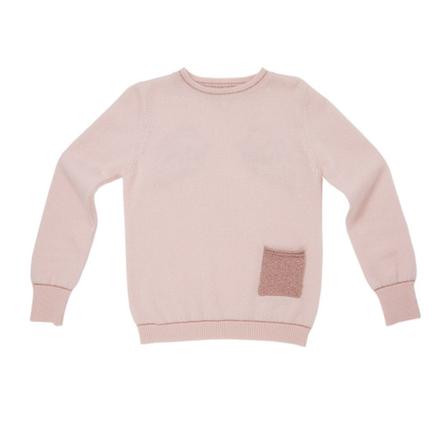 55b26419f1c Angel Wing Cashmere Sweater - Pink