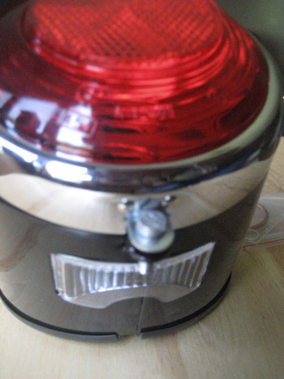 VINTAGE BMW COMPLETE COFFEE CAN TAIL LIGHT W/SOCKET BMW R69SR60 R50 AND R26 R27 - 63 24 8 054 118