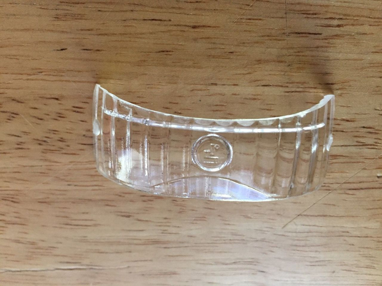 VINTAGE BMW CLEAR LICENSE PLATE LENS TO FIT EBER TAIL LIGHT - 63 26 8 099 810