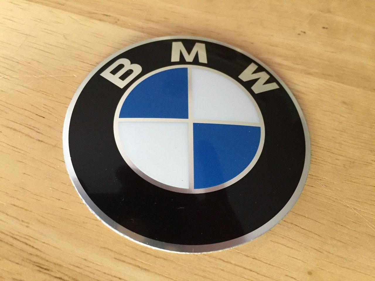 VINTAGE BMW TANK+SEAT COWL EMBLEM FITS R60/6-R100RT TANK AND REAR SEAT COWL  70MM - 16 11 1 232 908 & 46 63 7 686 746