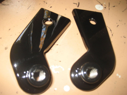 BMW /2 SPOT LIGHT MIRROR BRACKETS R50 R60 R69S LOOK AS NEW - 71 11 0 000 000