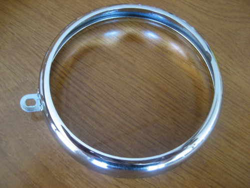 VINTAGE BMW CHROME TAIL LIGHT RING FITS COFFEE CAN BMW R50-R69S AND R26 R27 - 63 24 8 054 125