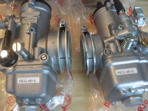 NEW R90S DELLORTO CARBURETOR PAIR FREE SHIPPING!! - PHM 38 R90S