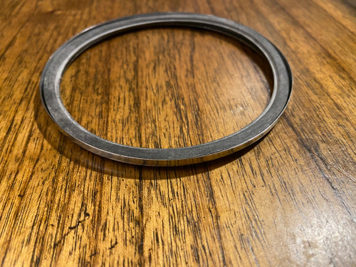 NEW VINTAGE BMW CHROME BEZEL AND RUBBER GASKET /5 SPEEDOMETER