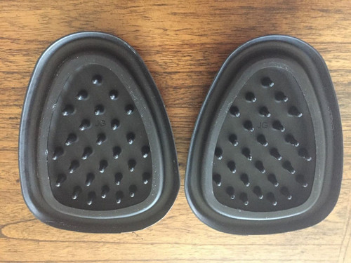 VINTAGE BMW HOSKE TANK KNEE PADS, 1 PAIR, NEW - 16 11 4 086 009