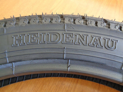 NEW HEIDENAU TIRE 3.25X18 K34 VINTAGE TREAD PATTERN FOR VINTAGE BMW - K34 3.25X18 - 2