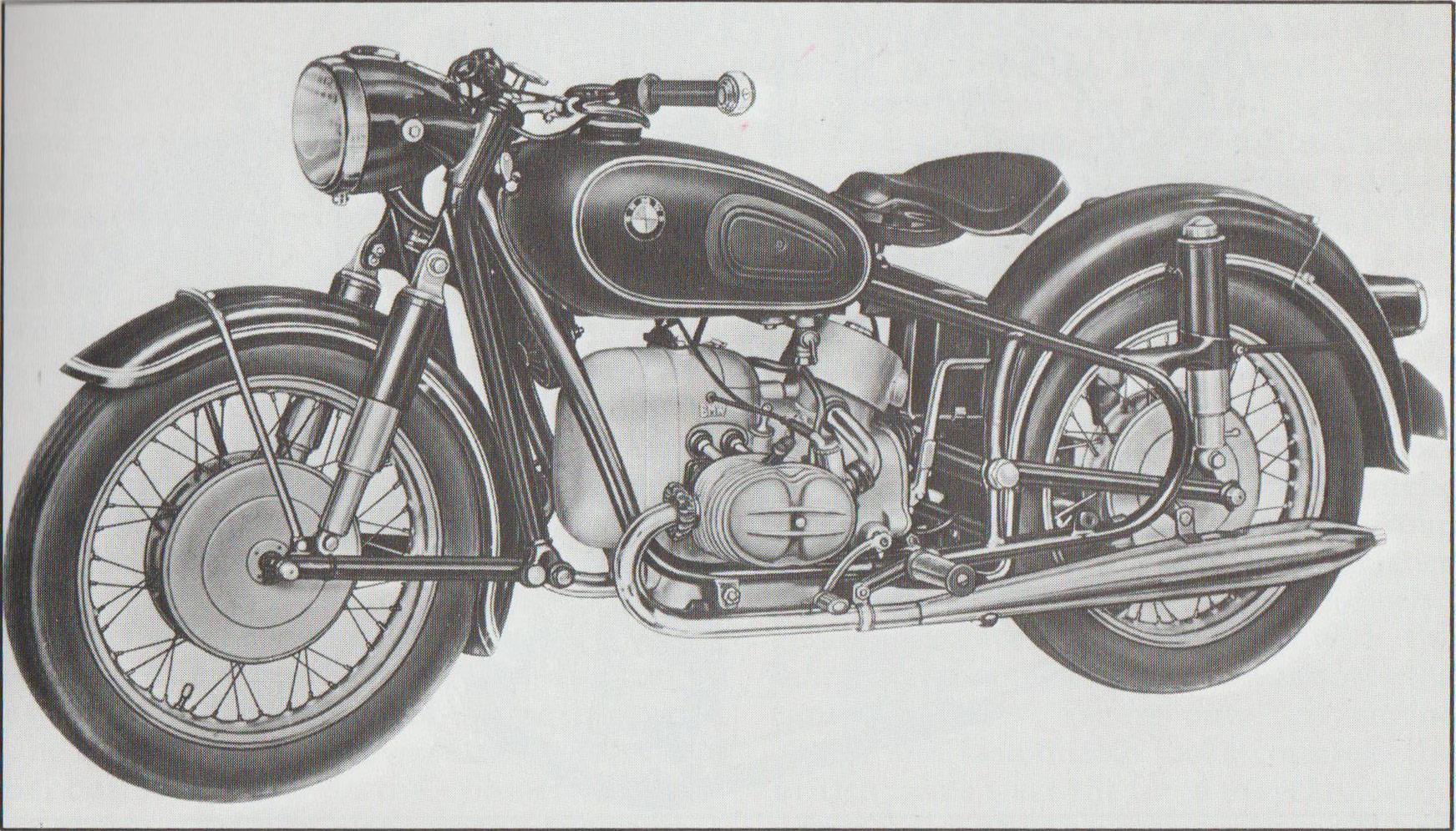 1960 BMW R50S