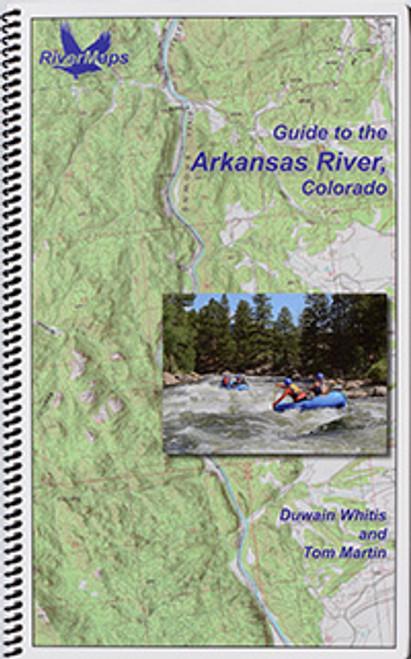 Arkansas River Map, Rocky Mountain Adventures