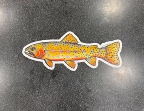 Cutthroat Trout Sticker