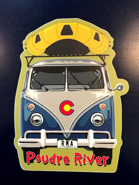 Bus Raft - Sticker